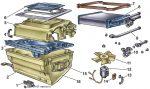 Ваз 2105 печка устройство – Печка ваз 2107: устройство, неисправности и ремонт, доработка отопителя